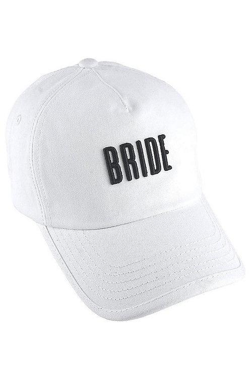 Embroidered Bride Ball Cap