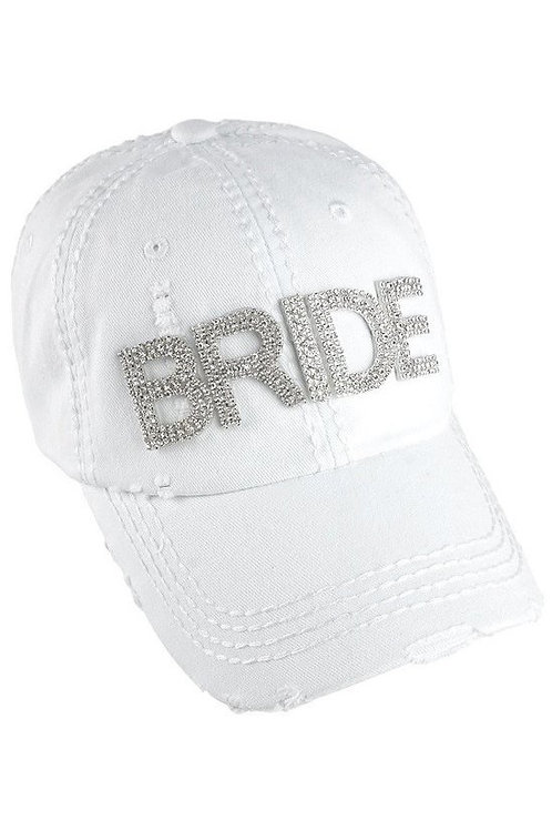Bling Bride Ball Cap