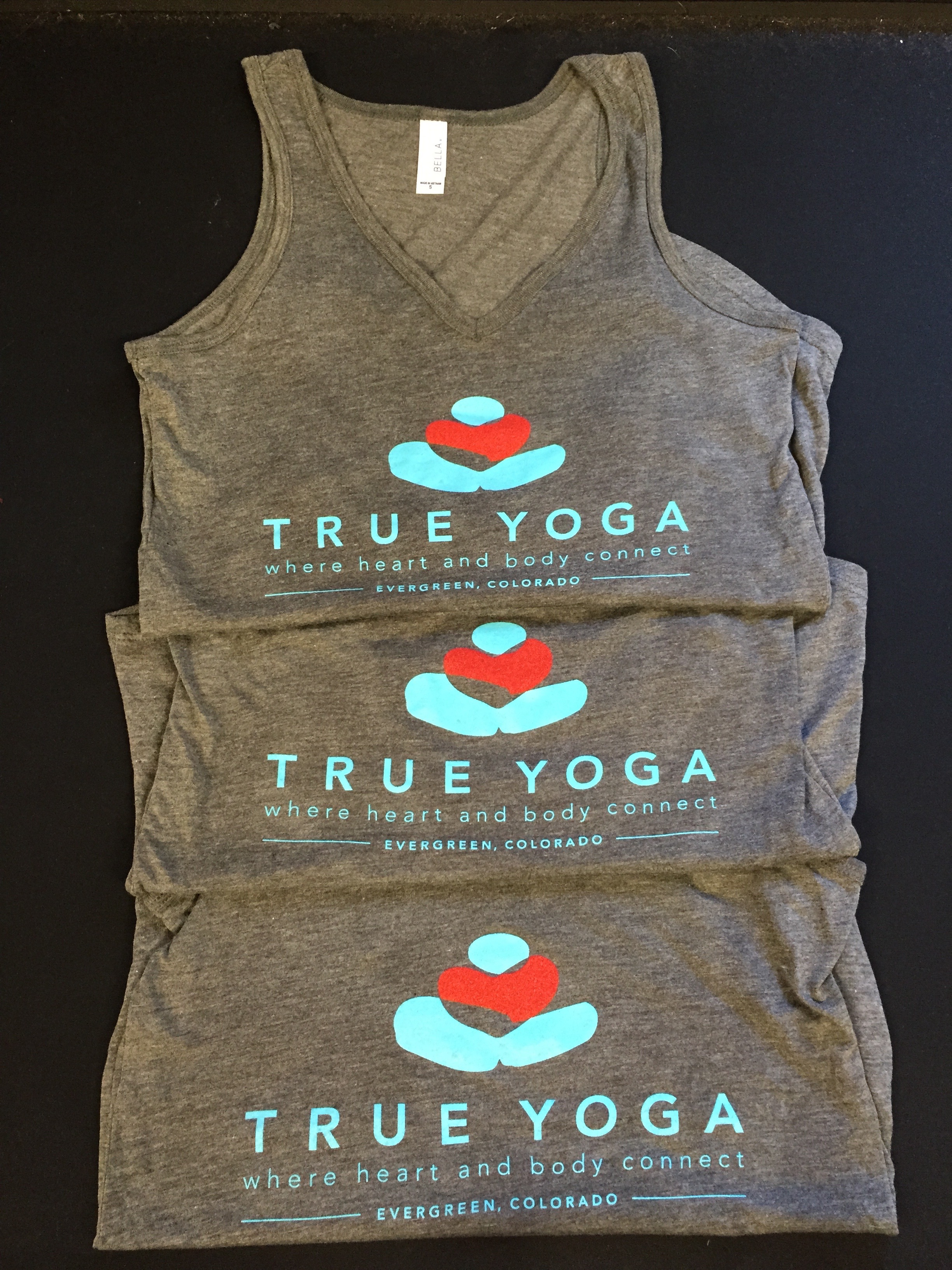 True Yoga screen print