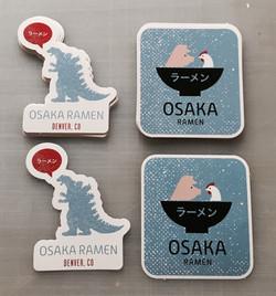 Osaka Ramen custom stickers