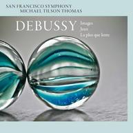 Debussy- Images, Jeux, & La plus que len