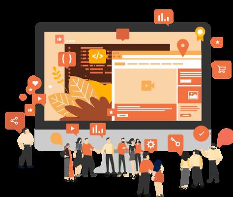 service marketing de site wix