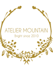 Logo Atelier Mountain Bijoux plaqués or