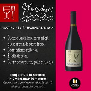 Hacienda San Juan | Pinot Noir