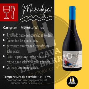 Moretta Wines   Carigno del Maule