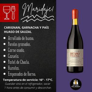 Huaso De Sauzal | Carignan, Garnacha, País