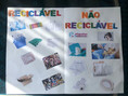 Atividade: é reciclável ou não reciclável?