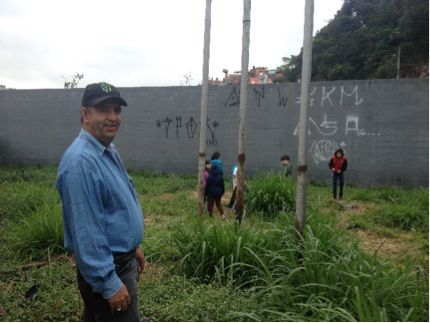 Programa  AIMIRIM - Horta na escola E.E Comendador Alfredo Vianello Gregório.