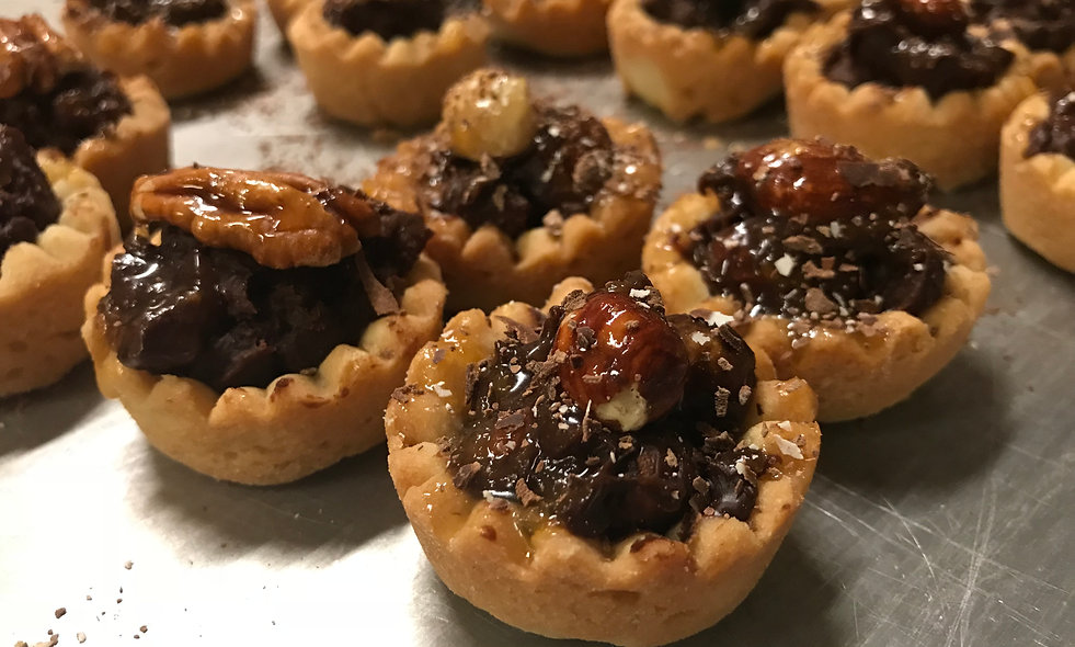 Chocolate Pecan Tart - Mini