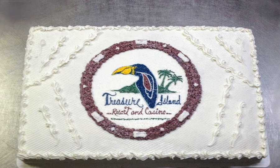 Gourmet Sheetcake with Logo