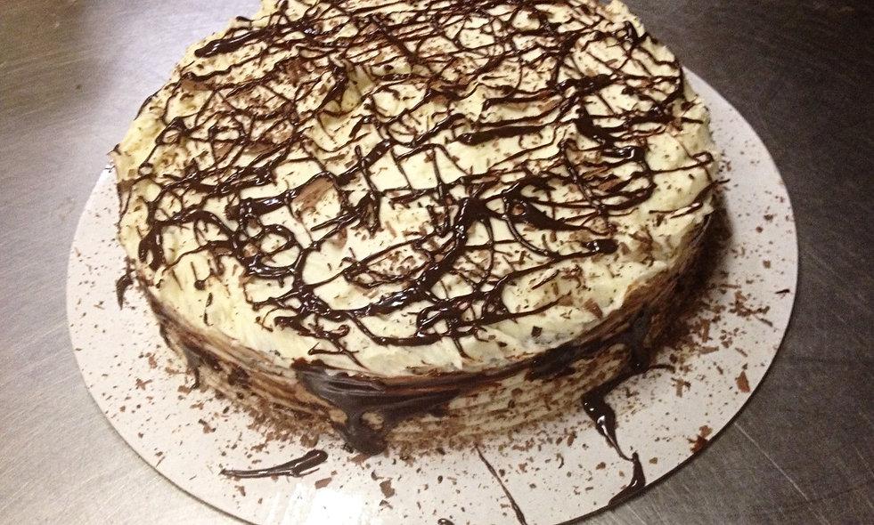 """8"""" Souffle Mousse Torte (Short)"""