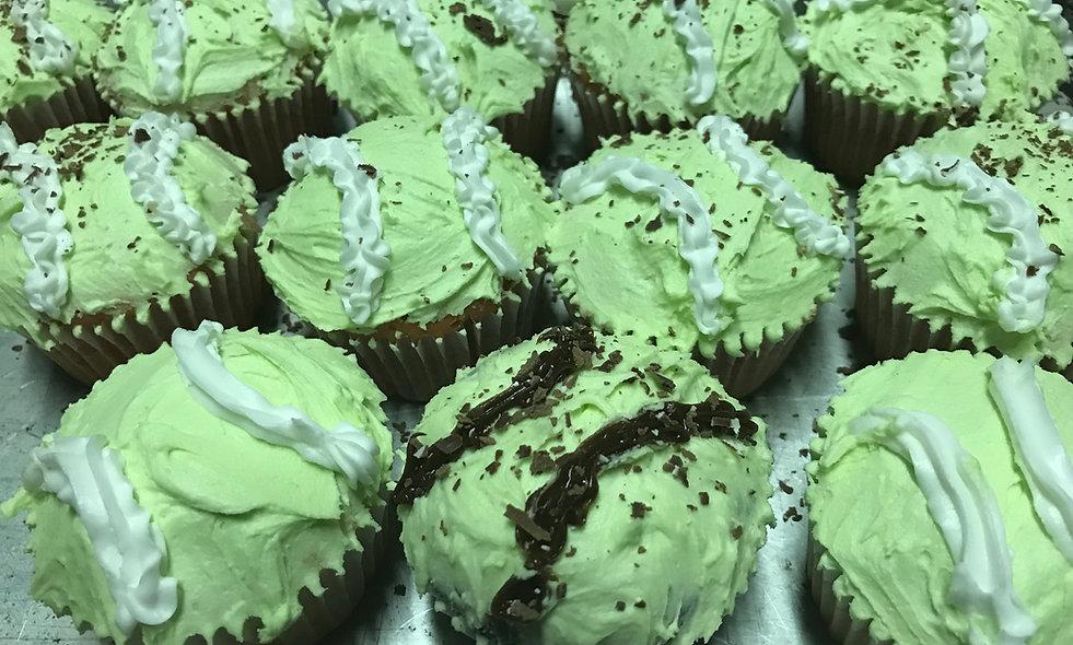 Gourmet Cupcakes - Crème de Menthe