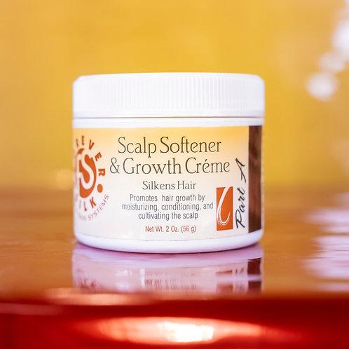 (2 oz.) Part A-Scalp Softener & Growth Crème