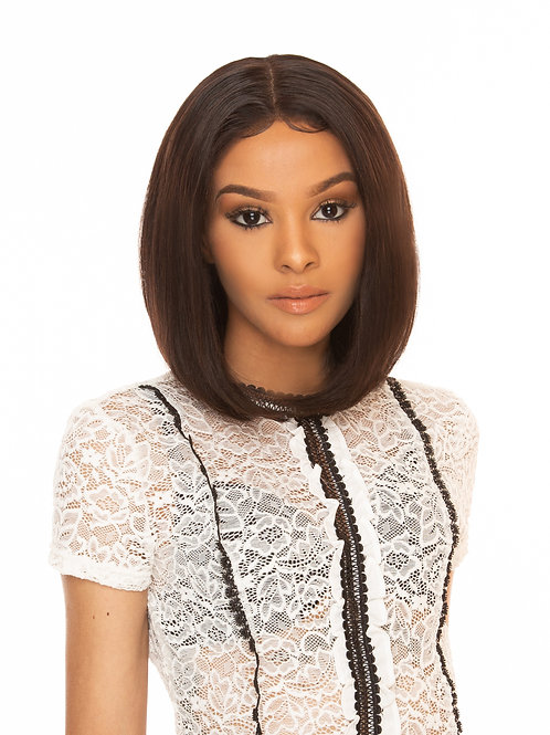 #2503 100% Virgin Unprocessed  Full Lace Wig with Loose Wave Texture - [Natural]