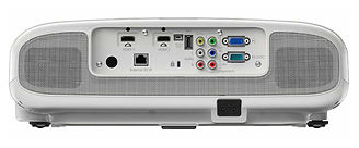 Epson EH-TW6100 Projector Rear , Do Audio Visual