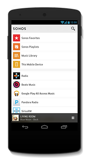 Sonos Android Apps