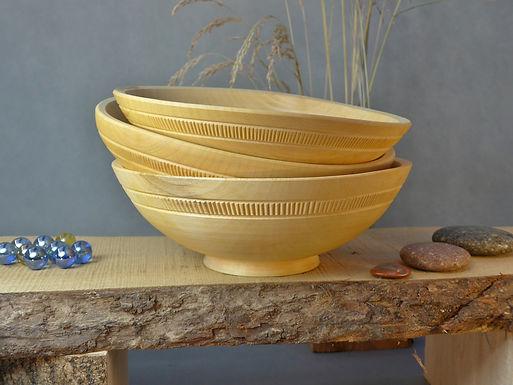 Japanese Style eating bowl-decorated