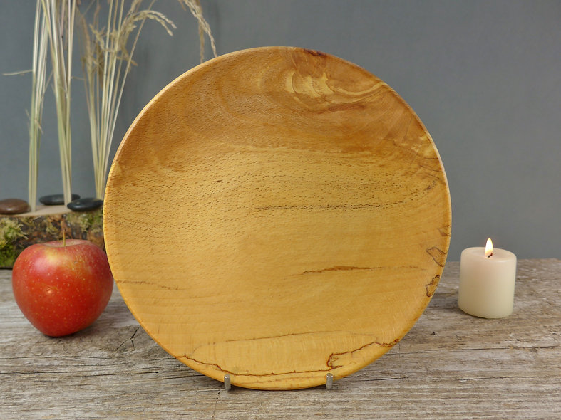 Spalted Beech wooden plate