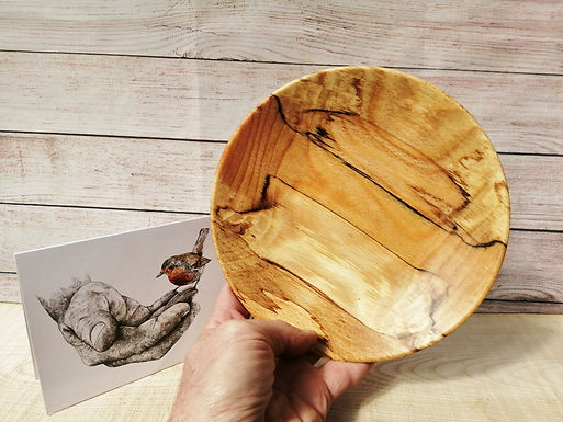 Spalted Beech Dish