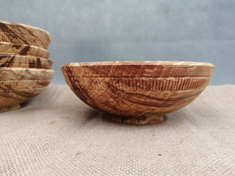 Japanes style eating bowl wood