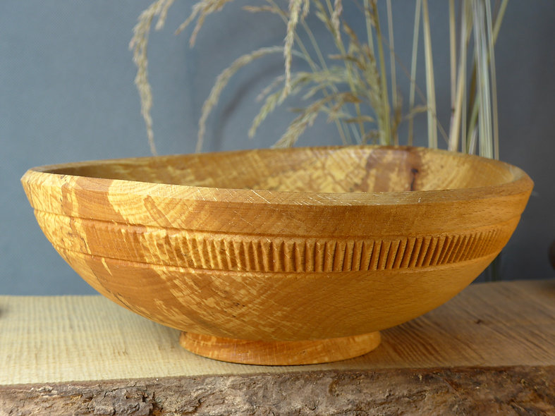 Japanese style wooden bowl