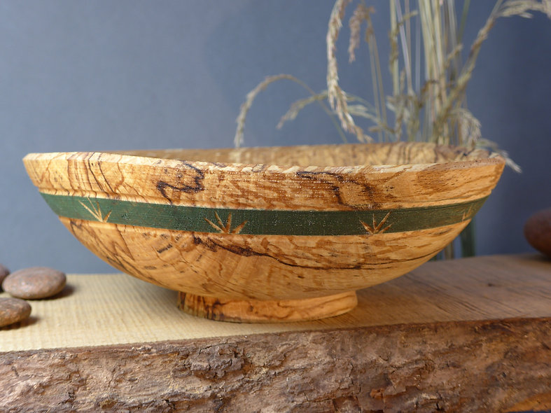 Japanese Style eating bowl-decorated