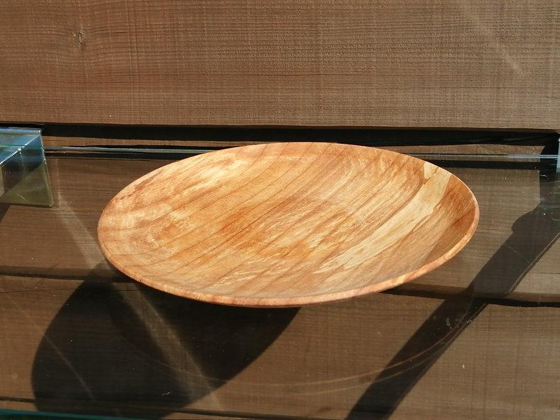 Wooden plate Alder side