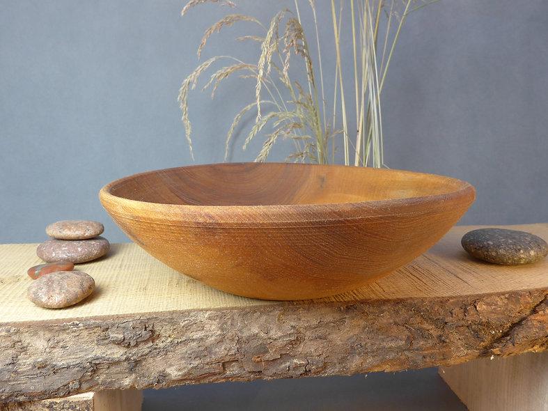 Elm bowl viking style