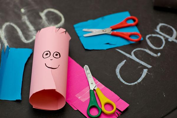 Baston Pre-School arts and crafts