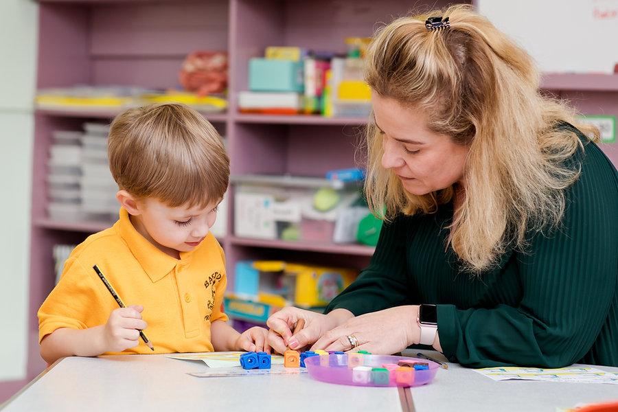 Baston Pre-School child learning
