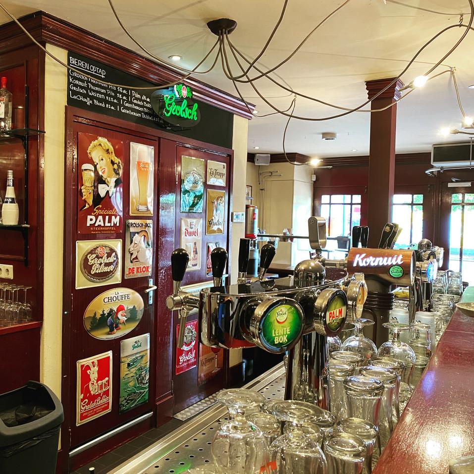 Eetcafe de Kater Wageningen de bar.