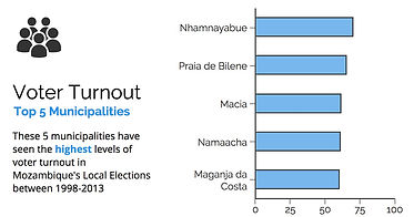 Mozambique Voter Turnout