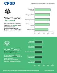 Mozambique Election Voter Turnout