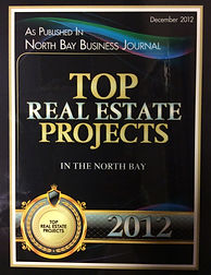 top real estate projects in the north bay for 2012