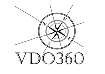 compass rose logo retouched text under n