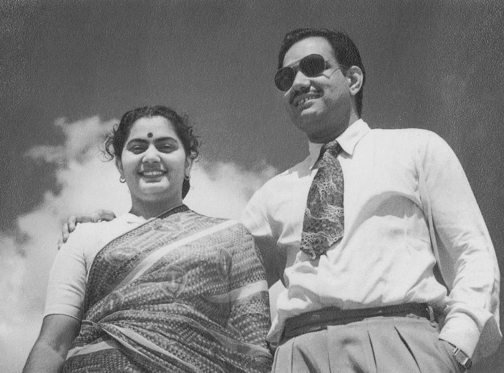 Swaran and Omi - 1950s - likely Darjeeling