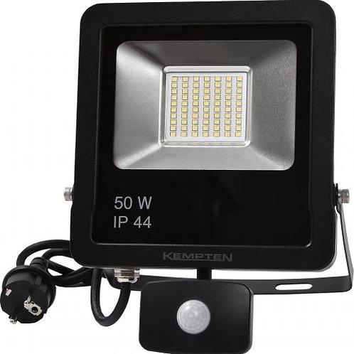 LED-valonheitin liiketunnistimella 50 W