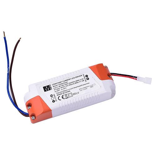 Vara-muuntaja LED-tynnyrivaloon