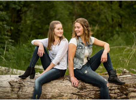 Michelle & Lenae - Chilliwack Sister Session