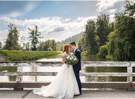 Liz & Stephan {Chilliwack Lavender Field Wedding}