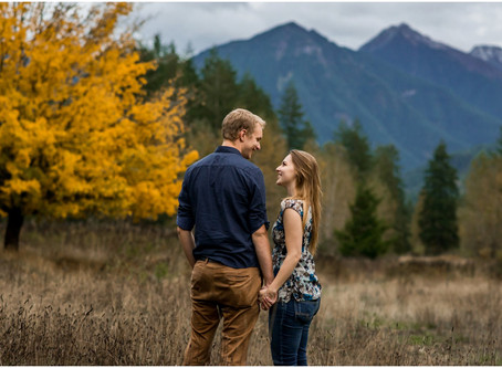 Caleb & Koda - Chilliwack Lake Road Engagement