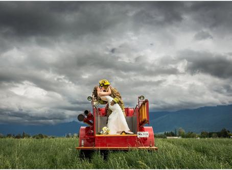 Josh & Ashley - Chilliwack Firefighter Wedding