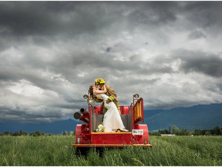 Josh & Ashley - Chilliwack Firefighter Wedding