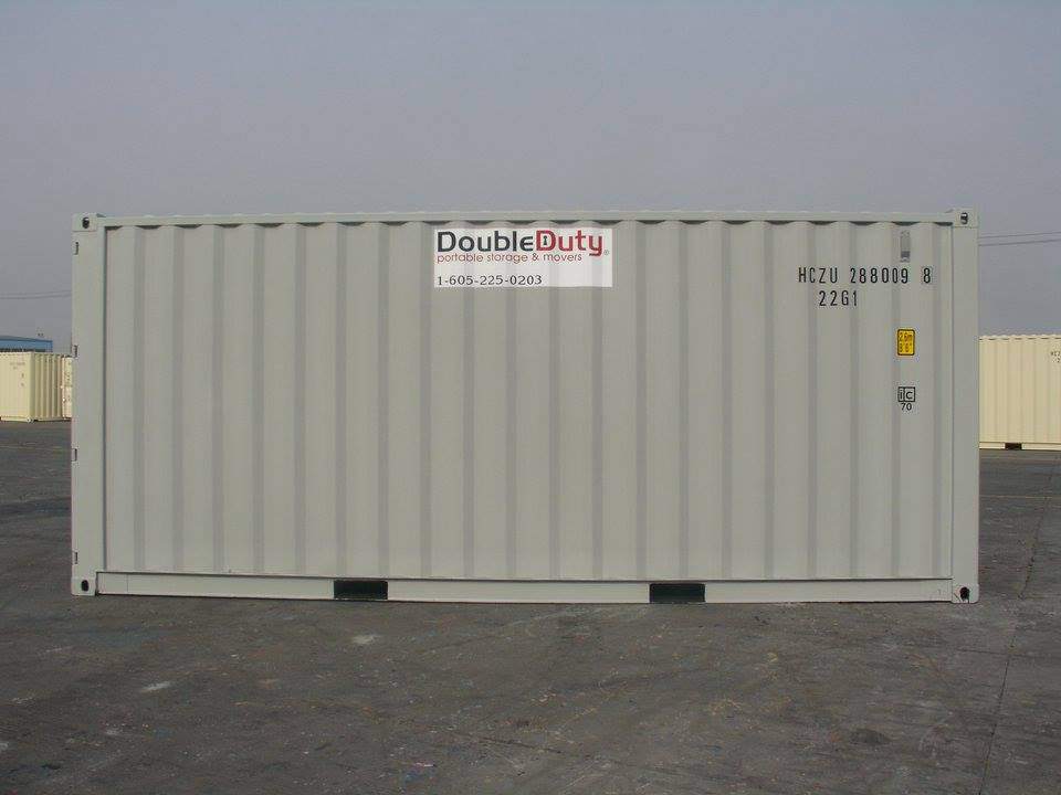 Double Duty Cargo Container