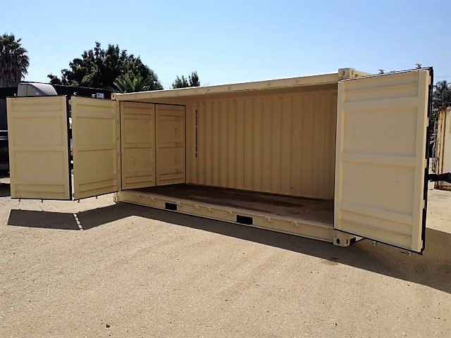 20ft Open-Side Double Duty Container