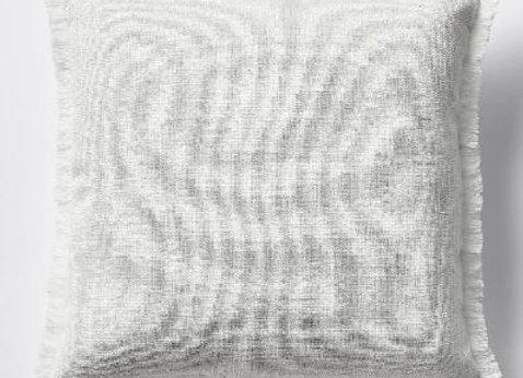 Fringed Cushion [Natural]