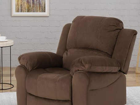 Most Comfortable RV Recliner for 2020. The Christopher Knight Home 304653 Edwin Gliding Recliner