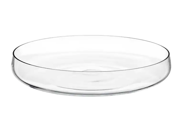 Glass Bowl [Clear - 26cm diameter]