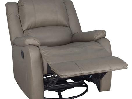 "RecPro Charles 30"" RV Swivel Glider RV Recliner Chair"