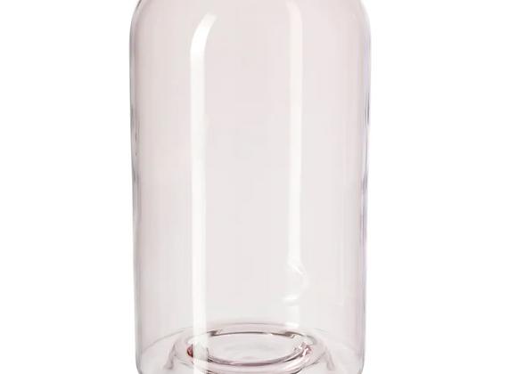Glass Vase [Pink - 26cm]